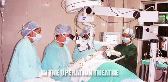 In the operation theatre